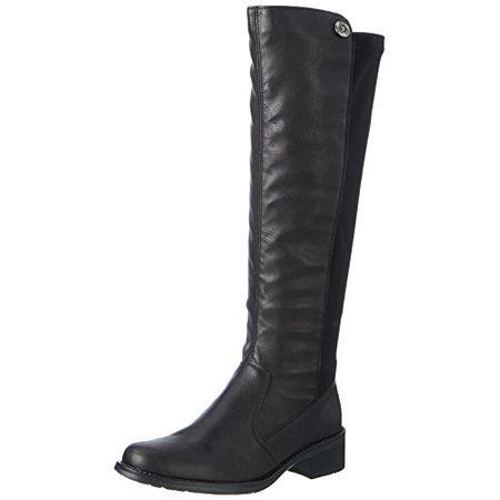Der Rieker Damen Stiefel Z6883 00 in schwarz ist ein