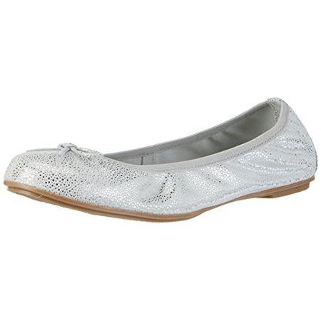 Marco Tozzi Cool Club Mädchen 42403 Geschlossene Ballerinas, Grau (Grey Metallic 297), 38 EU