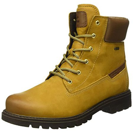 new product 9da97 edd42 camel active Damen Outback GTX 72 Kurzschaft Stiefel, Gelb (Curry/Bison  14), 40 EU
