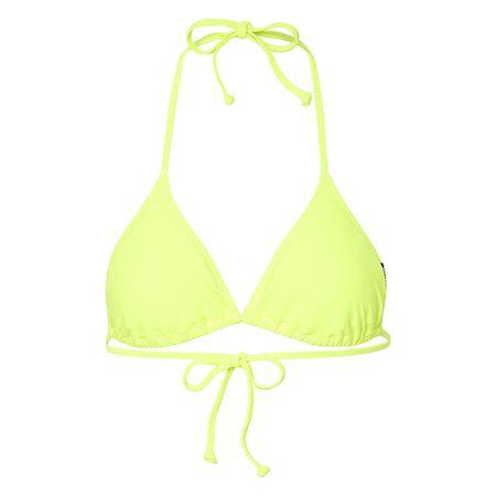 80ef9798be1b3 CHIEMSEE Bikini Top unifarben gelb Damen