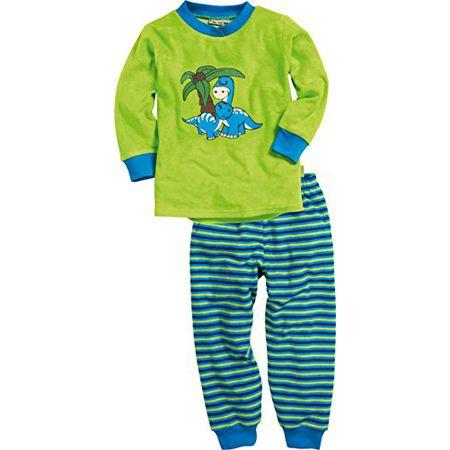 Playshoes Jungen Interlock Hai Zweiteiliger Schlafanzug