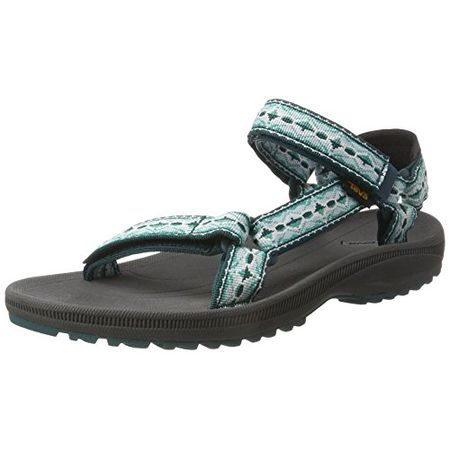 new style cec0a eb8c3 Teva Damen W Winsted Sandalen, Türkis (Antigua Deep Teal), 41 EU