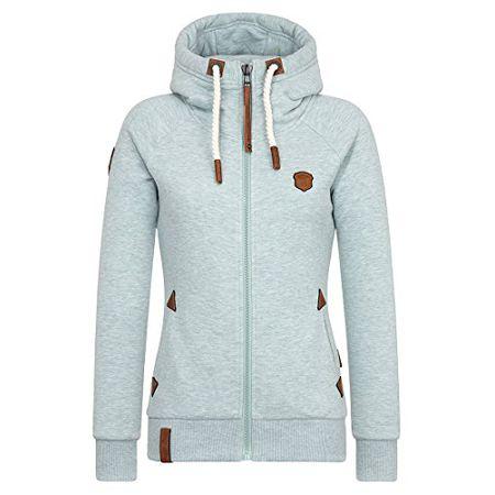 Gravierend Melange Female Jacket Naketano Engel Zipped