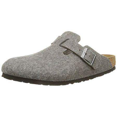 MARITED' BRAUN DAMEN HOLZ LEDER CLOGS Pantolette Sandalette