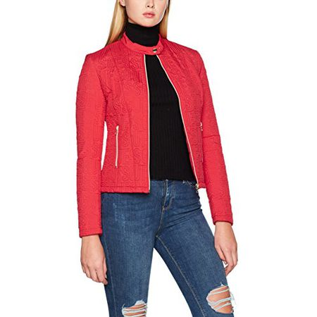 best website 21832 95e98 Guess Damen Cape W73L57W8QJ0, Rot (Ruby Red), Small