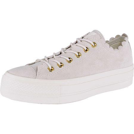 CONVERSE Chuck Taylor All Star Lift Ox Sneakers Low weiß Damen