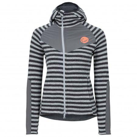 Edelrid Women's Creek Fleece Jacket Fleecejacke Gr L;M;S;XS rot;grauschwarz