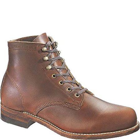Wolverine Mens Boot 1000 Mile Boot Rust Men