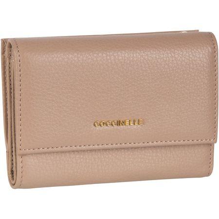 Verkauf Einzelhändler reich und großartig gutes Angebot Coccinelle Geldbörse Metallic Soft 1166 Pivoine