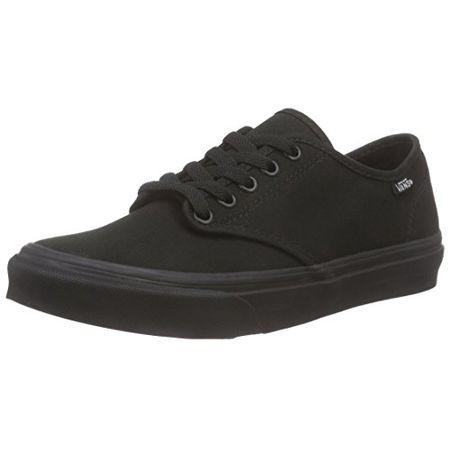 Vans Camden Stripe, Damen Sneaker, Schwarz (Canvas), 42 EU