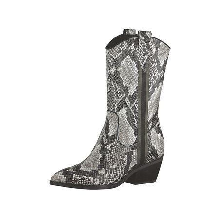 Tamaris Stiefel & Stiefeletten Klassische Stiefeletten grau Damen