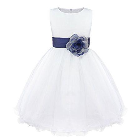 Festlich weiße mädchen kleider Weißes Kleid