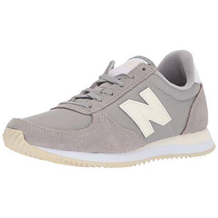 New Balance Damen WL220 Sneaker, Grau (Team Away GreyWL220RG), 37 EU