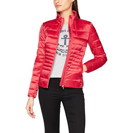 TOM TAILOR Damen Jacke Lightweight jacket 35551970070, Rot (Clean Red  4535), 36 ( 71a8f5e886