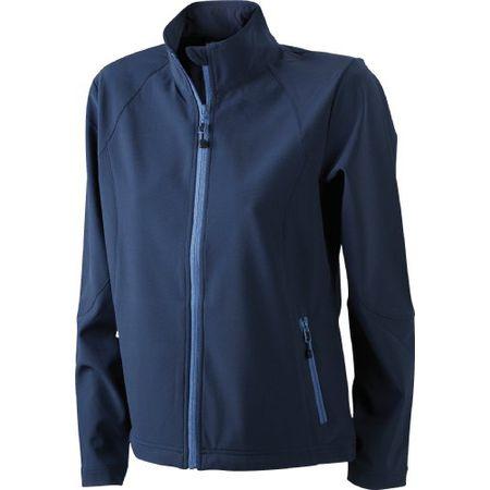 50caf0977349d1 James & Nicholson Damen Jacke Softshelljacke blau (navy) X-Large