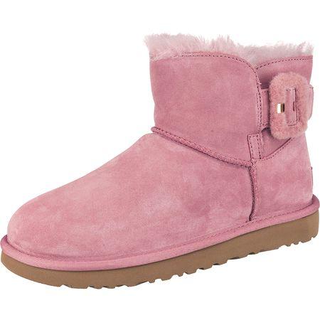 c1129f9cb1 UGG Mini Bailey Fluff Buckle Winterstiefeletten rosa Damen
