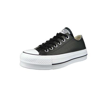 d4eb100e46358 ... uk converse chucks 561681c chuck taylor all star lift ox sneakers low  schwarz damen 2186b 196d9