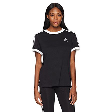 adidas Originals Damen Line Trefoil T Shirt