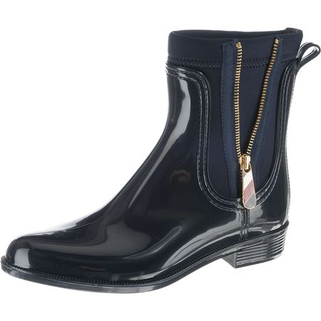 b71bb557086fa1 TOMMY HILFIGER MATERIAL MIX RAIN BOOT Klassische Stiefel blau Damen