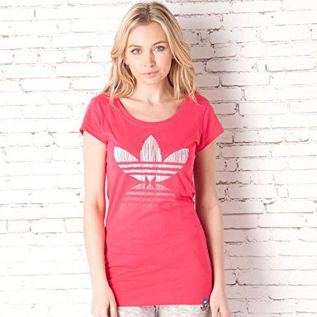 Adidas originals t shirt oncada schwarz gelb pink sport
