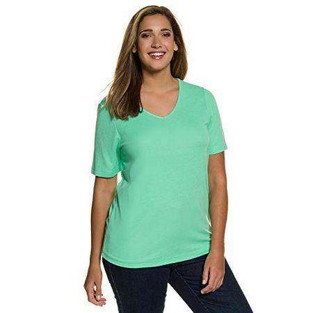 86e4db8c21b756 Ulla Popken Damen Große Größen | T-Shirt, Unterziehshirt, Jersey-Shirt,