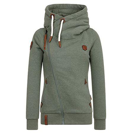 Jüberagend Big Naketano MelangeXs Zipped Jacket Boobies Female sxQrhtdC