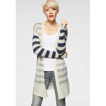 ARIZONA Kurzarmpullover V Ausschnitt Pullover mit kurzen