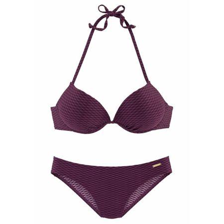 38d9574a32046 BRUNO BANANI Push-up-Bikini bordeaux