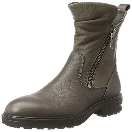 Ecco Damen Elaine Combat Boots, Schwarz (Black), 37 EU