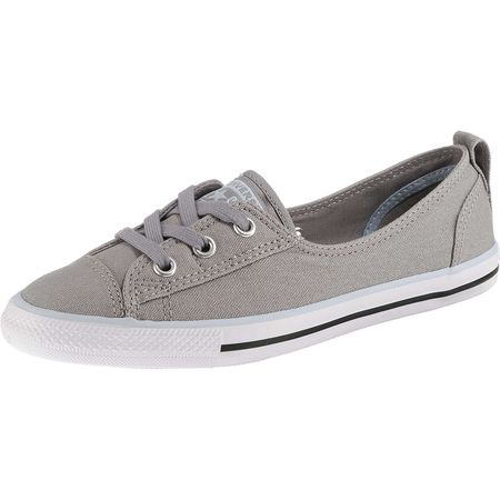607a3c366ce4 CONVERSE Chuck Taylor All Star Ballet Lace Sneakers Low grau Damen