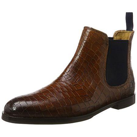 Melvin & Hamilton Damen Amelie 8 Chelsea Boots Beige Pink Gr