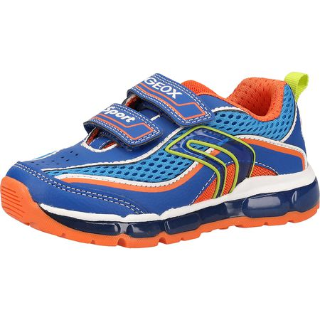 GEOX Sneakers low für Jungen blauorange Junge