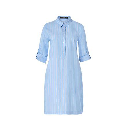 Hallhuber kleid royalblau