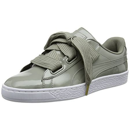 Puma Damen Basket Heart Patent Low-Top Sneaker 54836b525