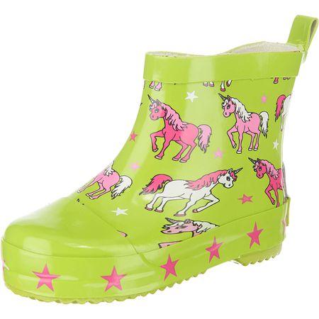 9fc57b60e42db Playshoes Kinder Gummistiefel grün Mädchen