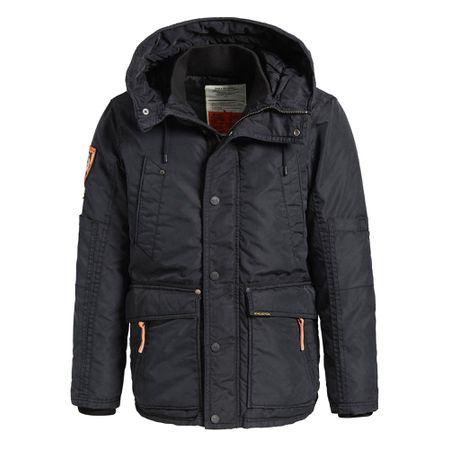 Khujo HOOK Winterjacke Herren schwarz im Online Shop von
