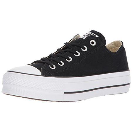 0937a36af60cdb Converse Damen CTAS Lift OX Black Garnet White Sneaker