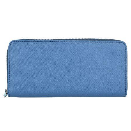676adfb2cc641 ESPRIT Farah Geldbörse 20 cm Portemonnaies blau Damen