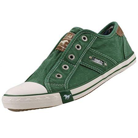 Mustang Sneaker low für Damen in grün | P&P Shoes