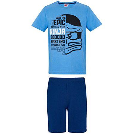 16085a1259cc1c Lego Ninjago Schlafanzug Kollektion 2018 Pyjama 104 110 116 122 128 134 140  Shorty Shortie Jungen Neu Top (Blau, 104-110)