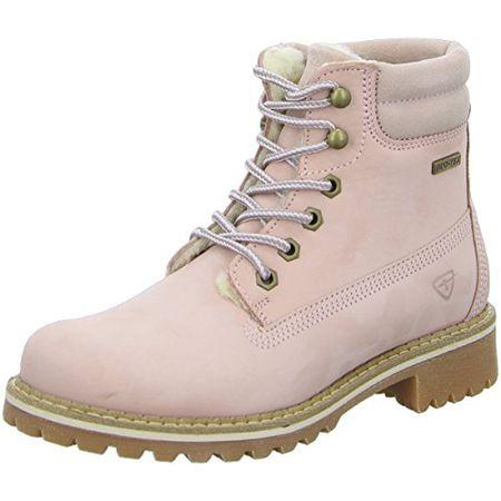 Tamaris Damenschuhe 1 1 26244 29 Damen Stiefel, Boots, Damen Stiefeletten, Herbstschuhe & Winterschuhe für Modebewusste Frau Rosa (Lt.Pink Nubuc), EU