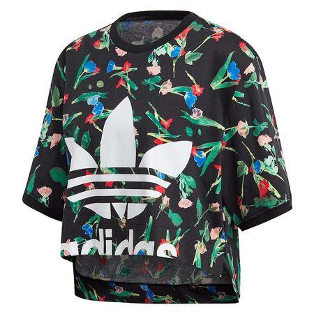 ADIDAS ORIGINALS Sweatshirt mit Plisseeeinsätzen in
