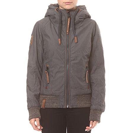 Damen Jacke Naketano Kanone Ist Geladen II Jacke Olive XL