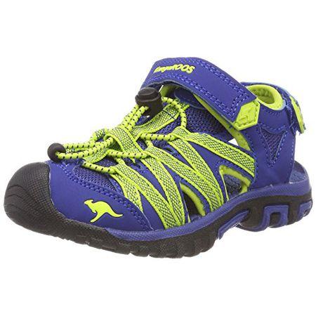 KangaROOS Unisex-Kinder Retro Cup Kids Sneaker blau