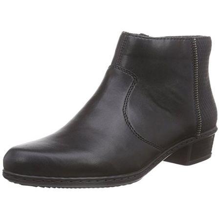 Rieker Damen 96618 Kurzschaft Stiefel, Grau (GreyCloud41), 38 EU