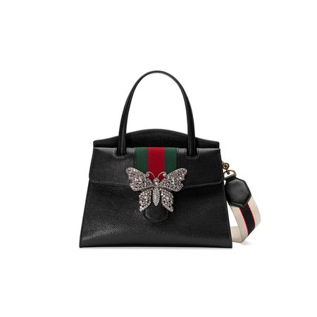 b3f8ebb97 Gucci GucciTotem medium top handle bag - Schwarz