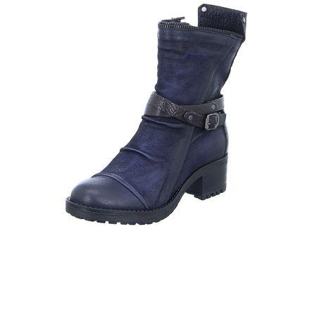 707456abb857b3 MJUS 133215 Klassische Stiefeletten blau Damen