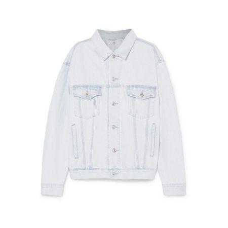 Balenciaga - Like A Man Jeansjacke In Oversized-passform - Hellblau c328624853
