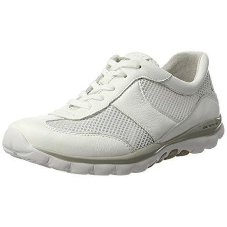 Gabor Shoes Damen Rollingsoft Sneakers, Weiß (Weiss 50), 42 EU