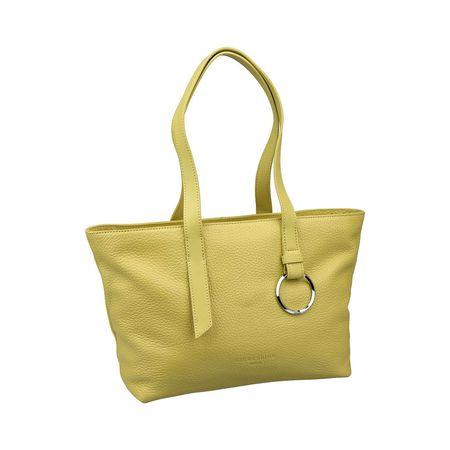 Damen Millenium Liebeskind Berlin M Gelb 3 Shopper Handtasche Handtaschen lTKJF1c